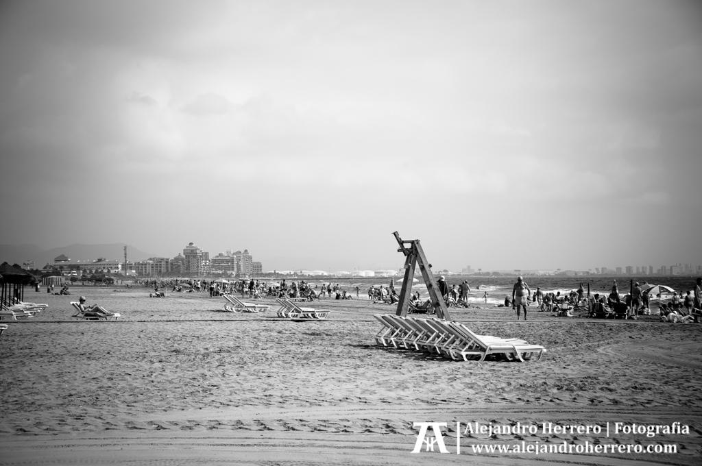 2014-08-09-Playa-Patacona-Valencia-041-BW3