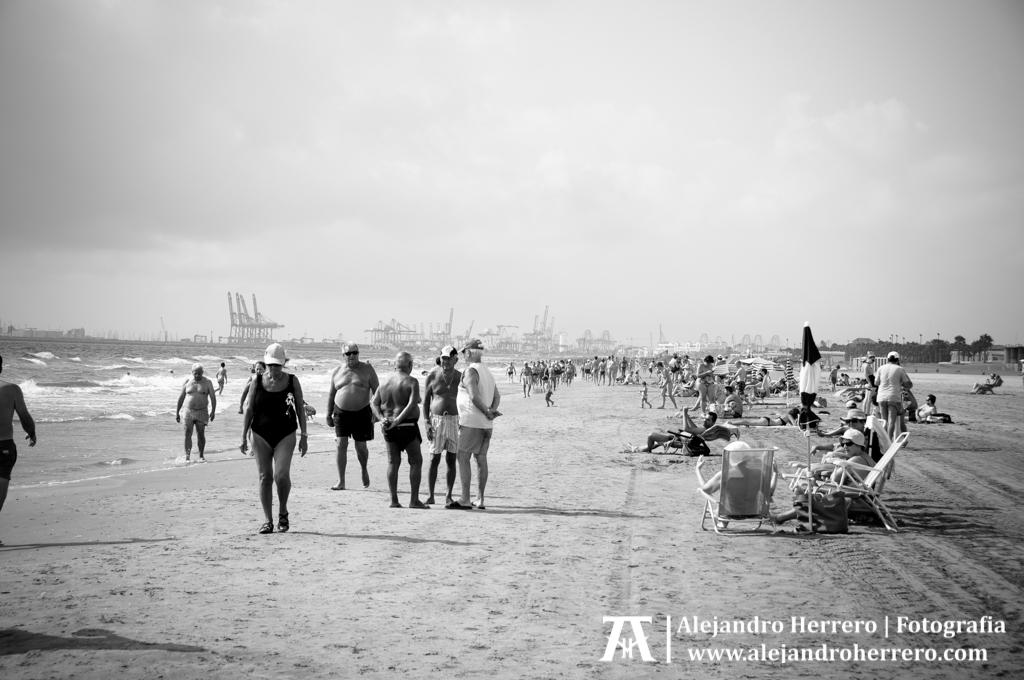 2014-08-09-Playa-Patacona-Valencia-046-BW3